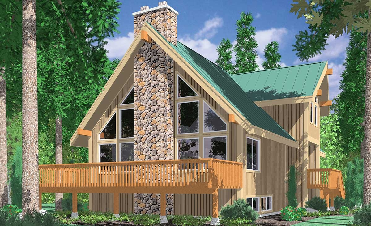 Vacation House Plans With Walkout Basement