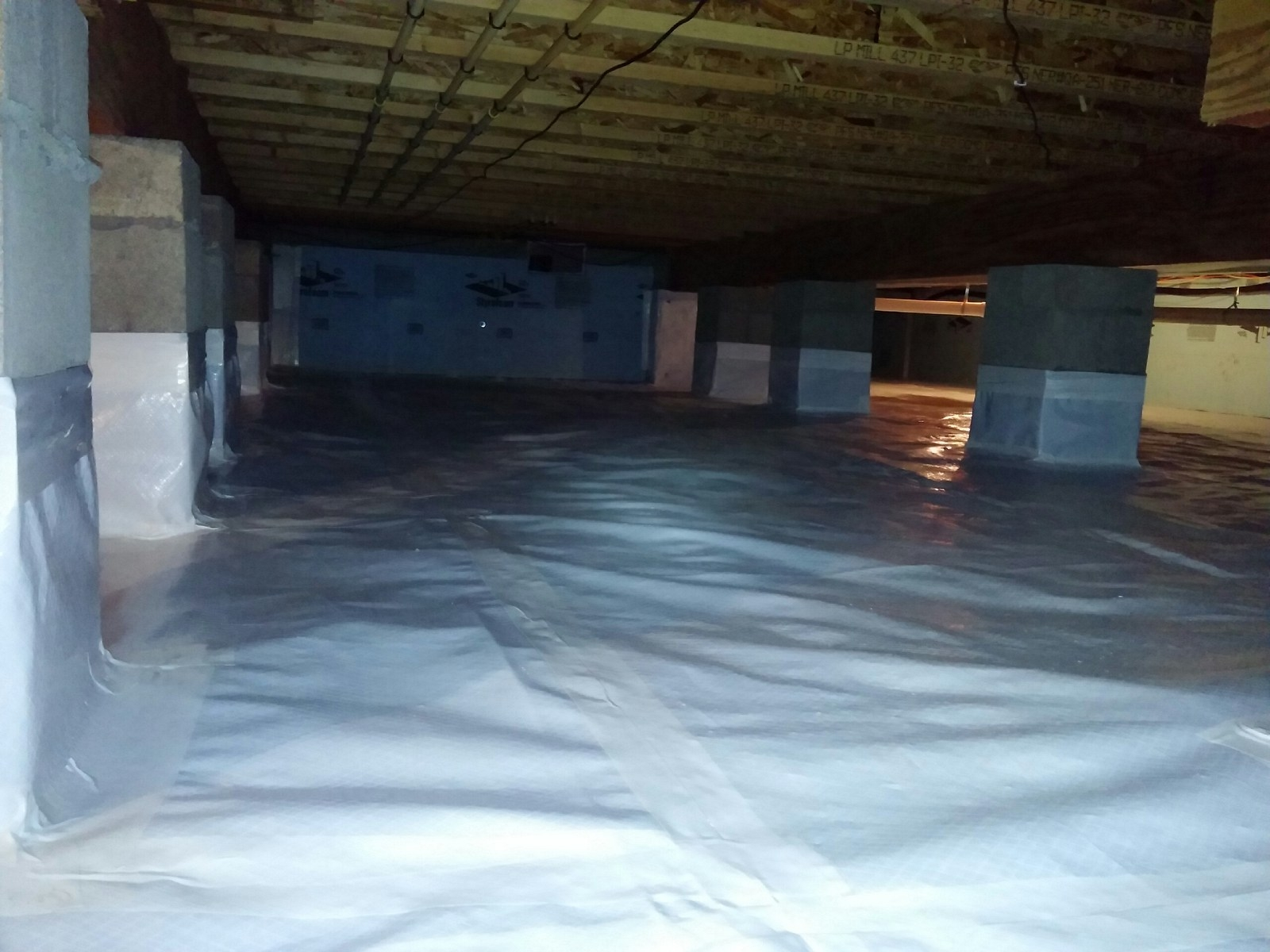 Vapor Barrier Basement Crawl Space