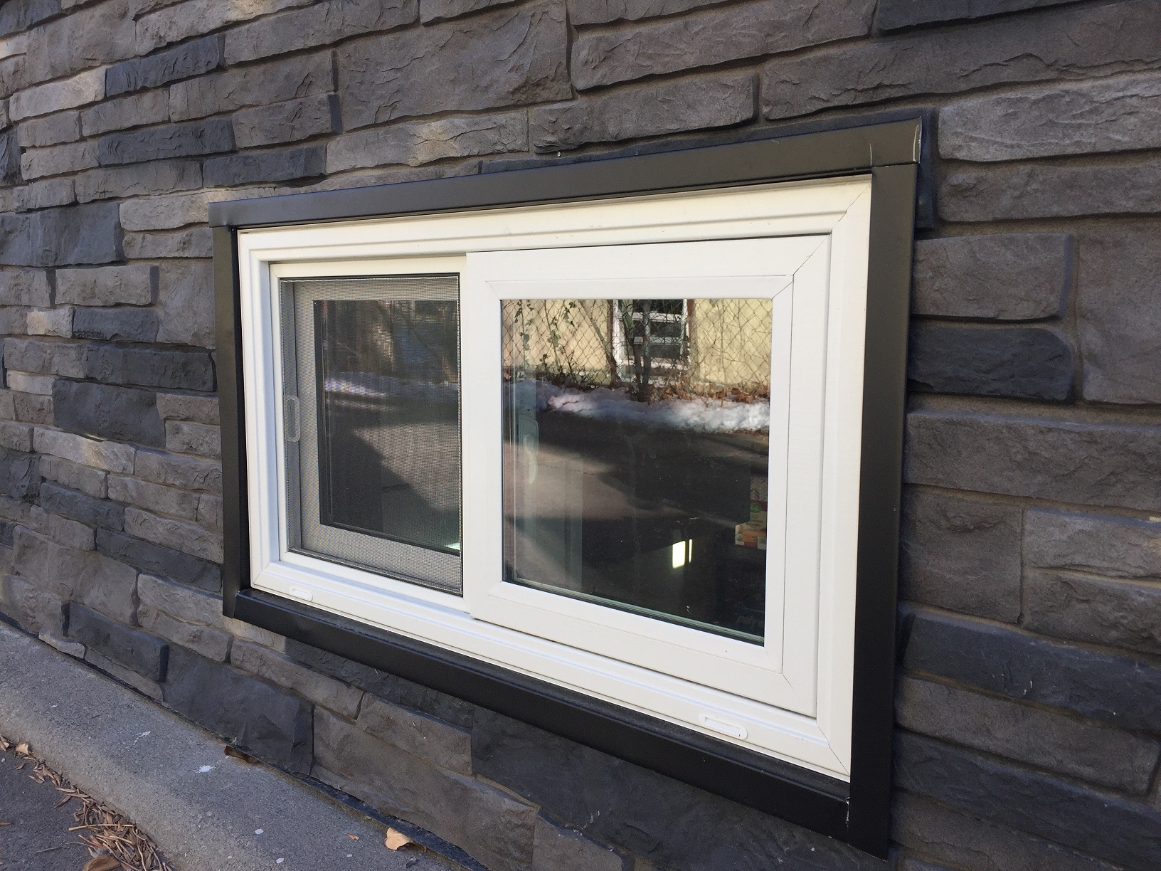 Vinyl Basement Window Inserts