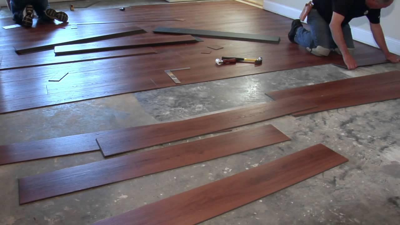 Vinyl Plank Flooring Over Concrete Basement