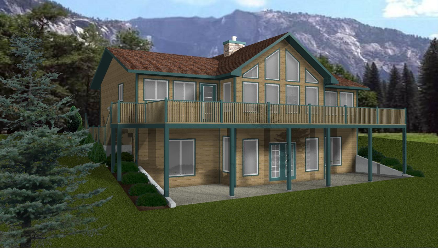 Walkout Basement House Plans Small