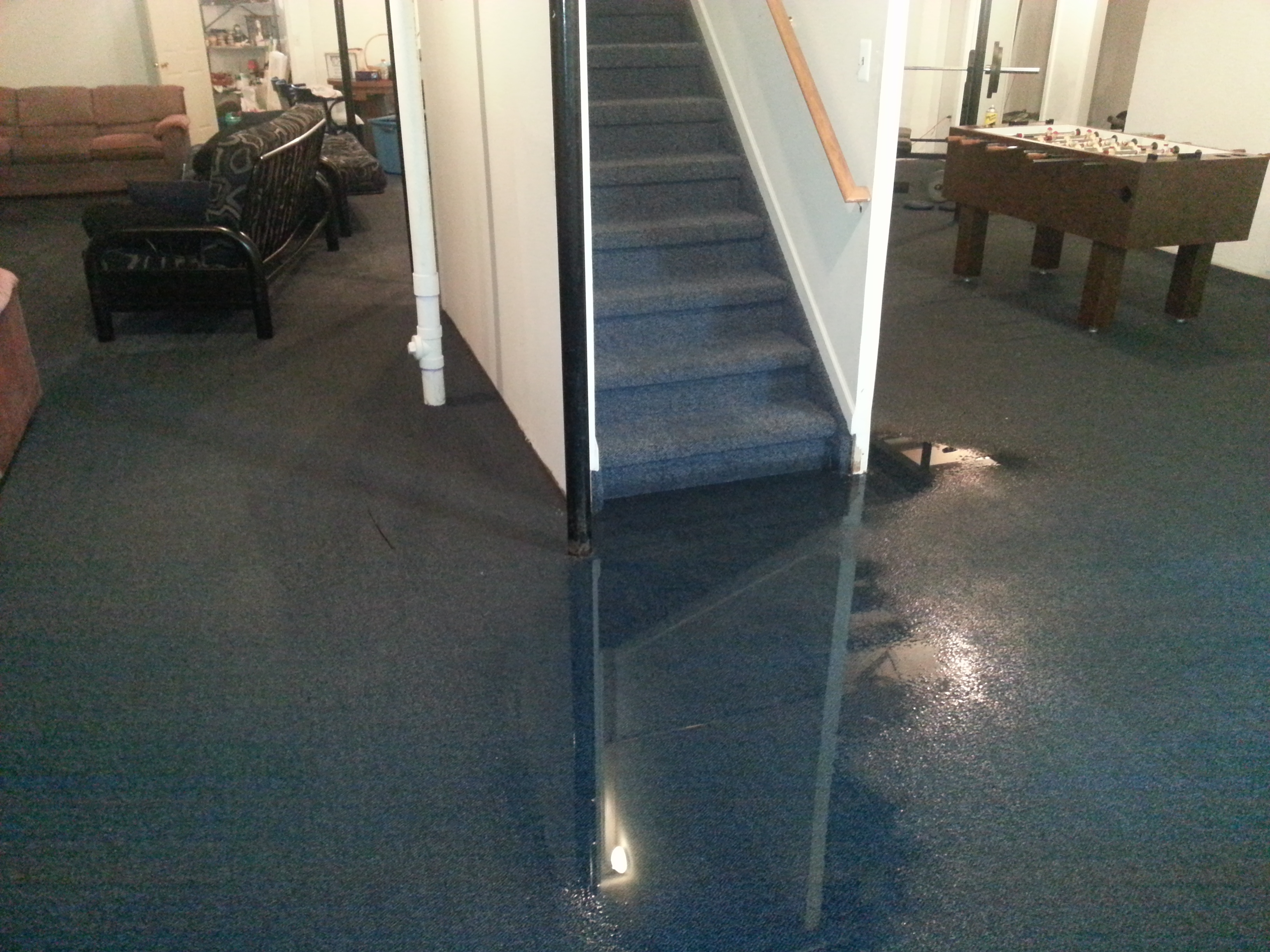Water Is Flooding My Basement