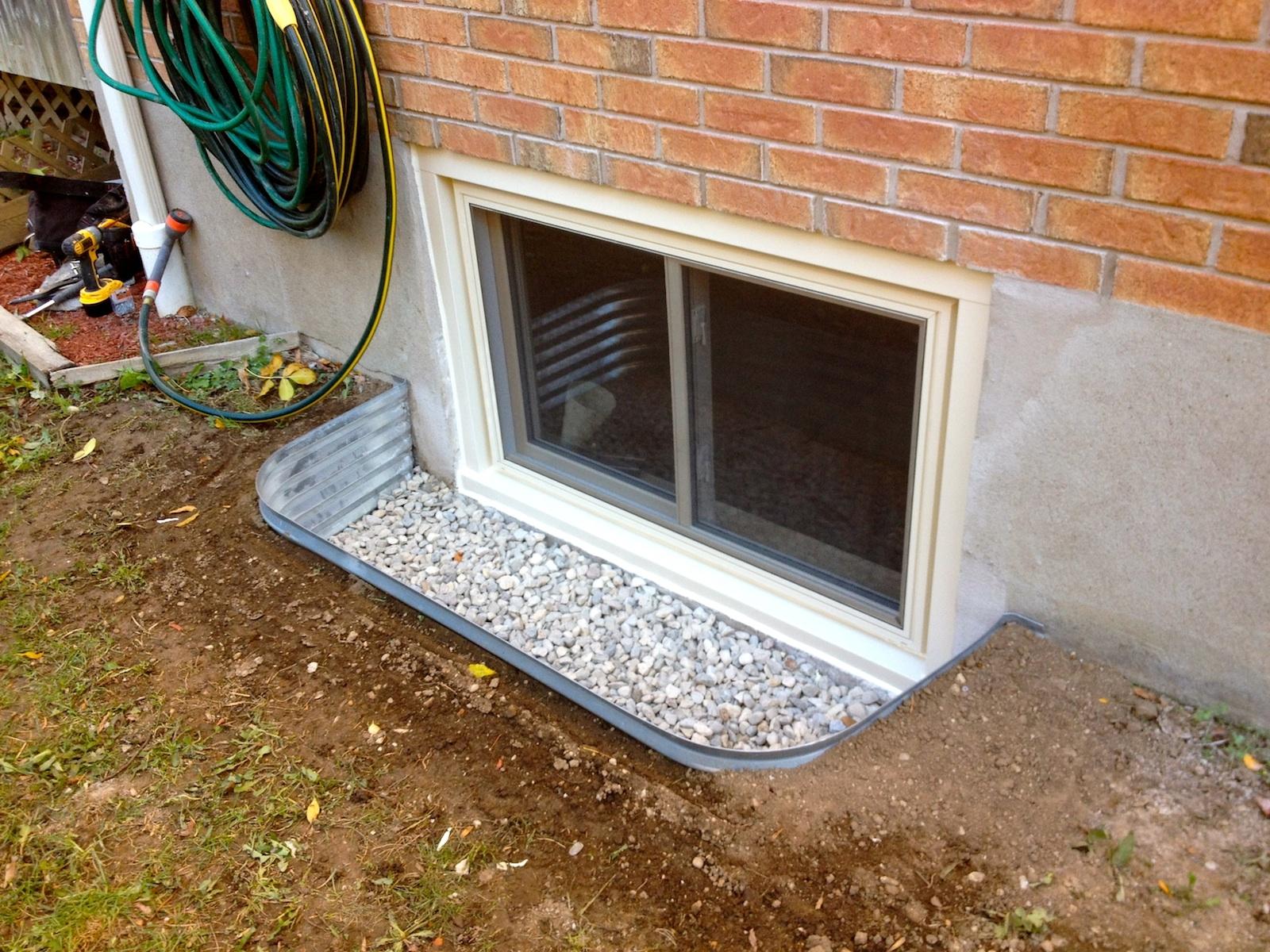 Water Sealing Basement Windows