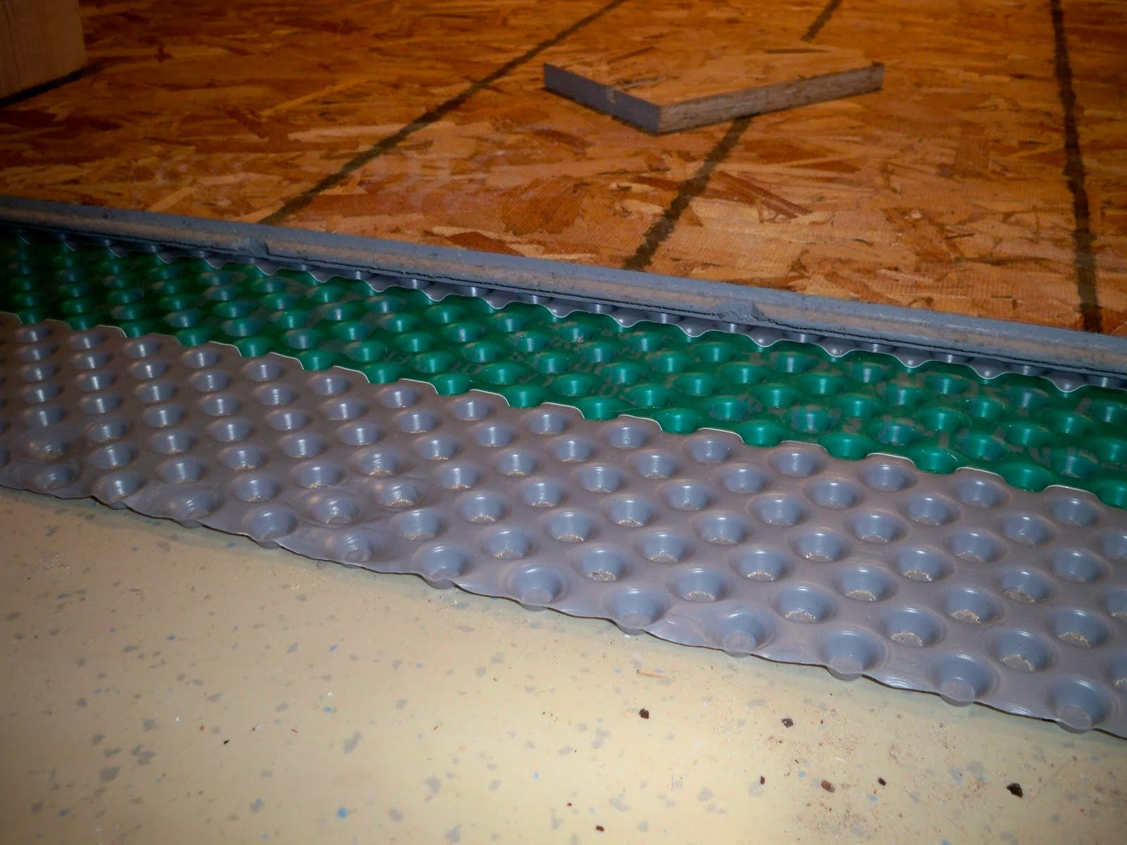 Waterproof Basement Subflooring