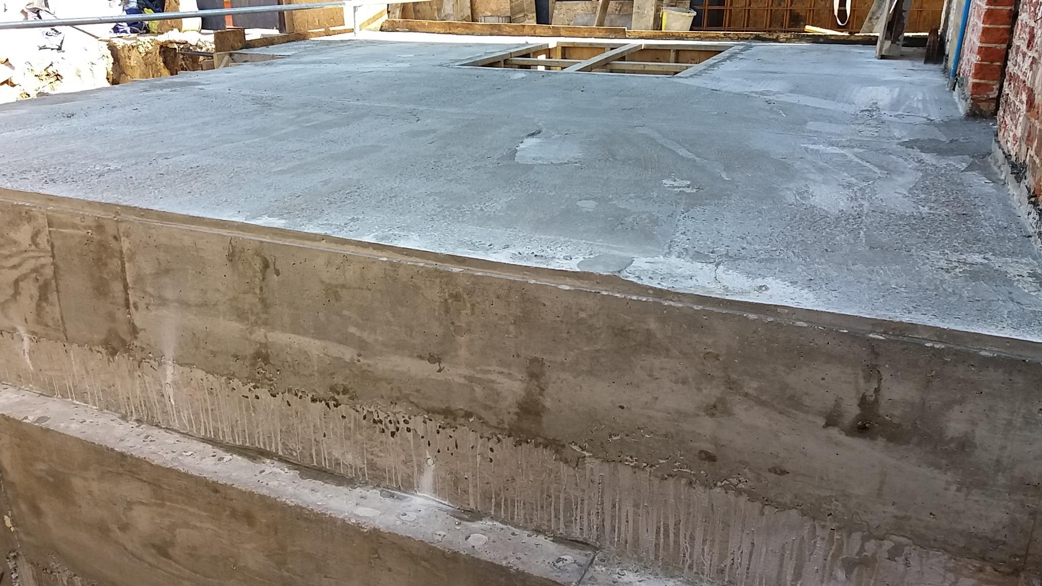 Waterproof Concrete Basement Construction