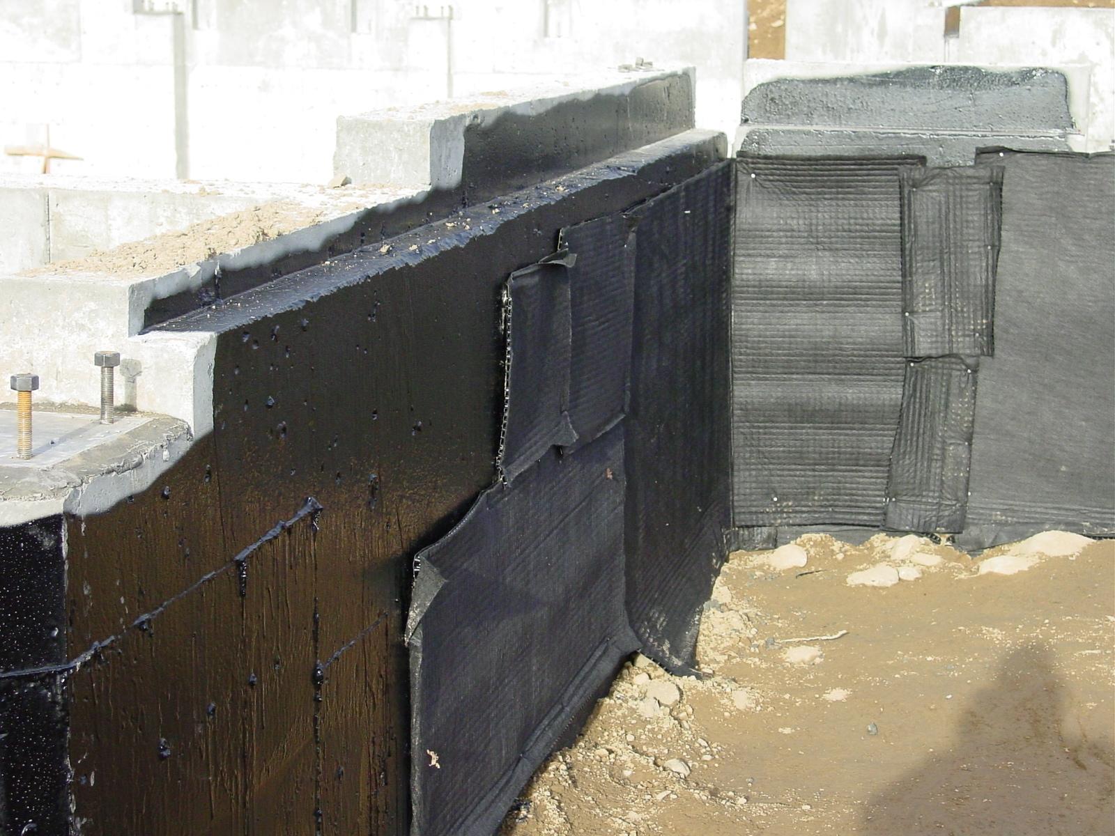 Waterproofing Exterior Basement Walls Products