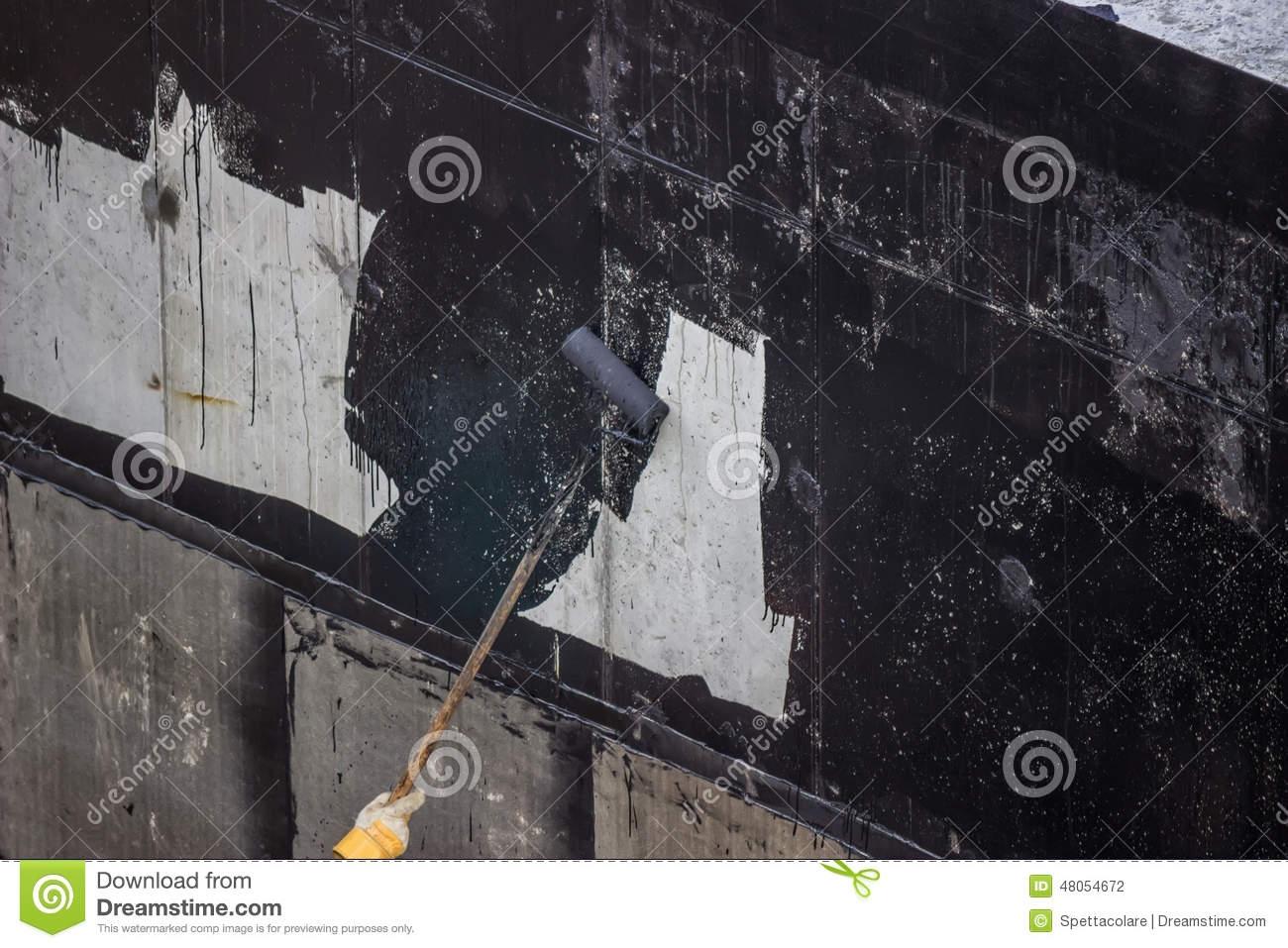 Waterproofing Exterior Basement Walls Tar