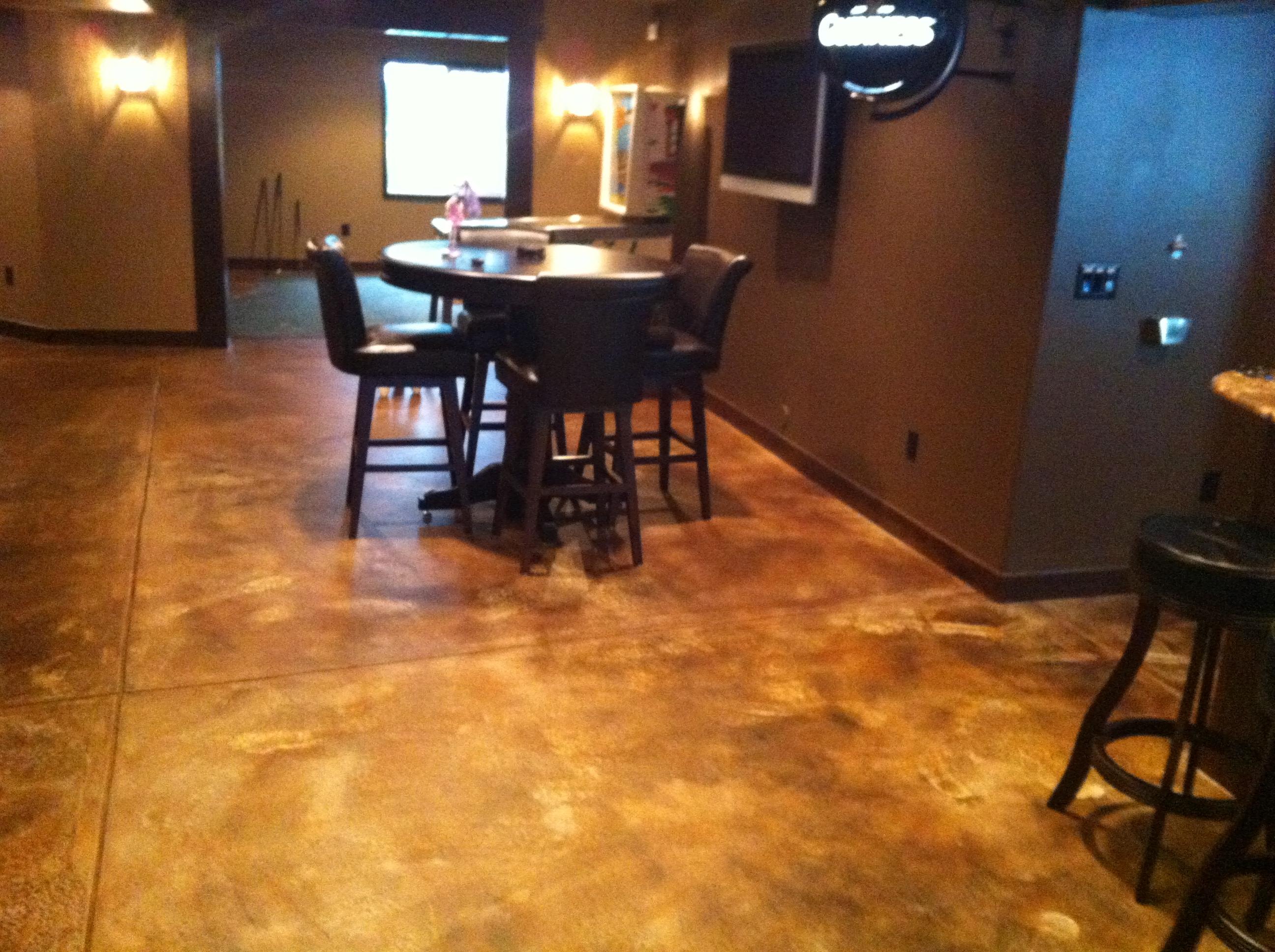 Wood Floor Basement Instead Concrete