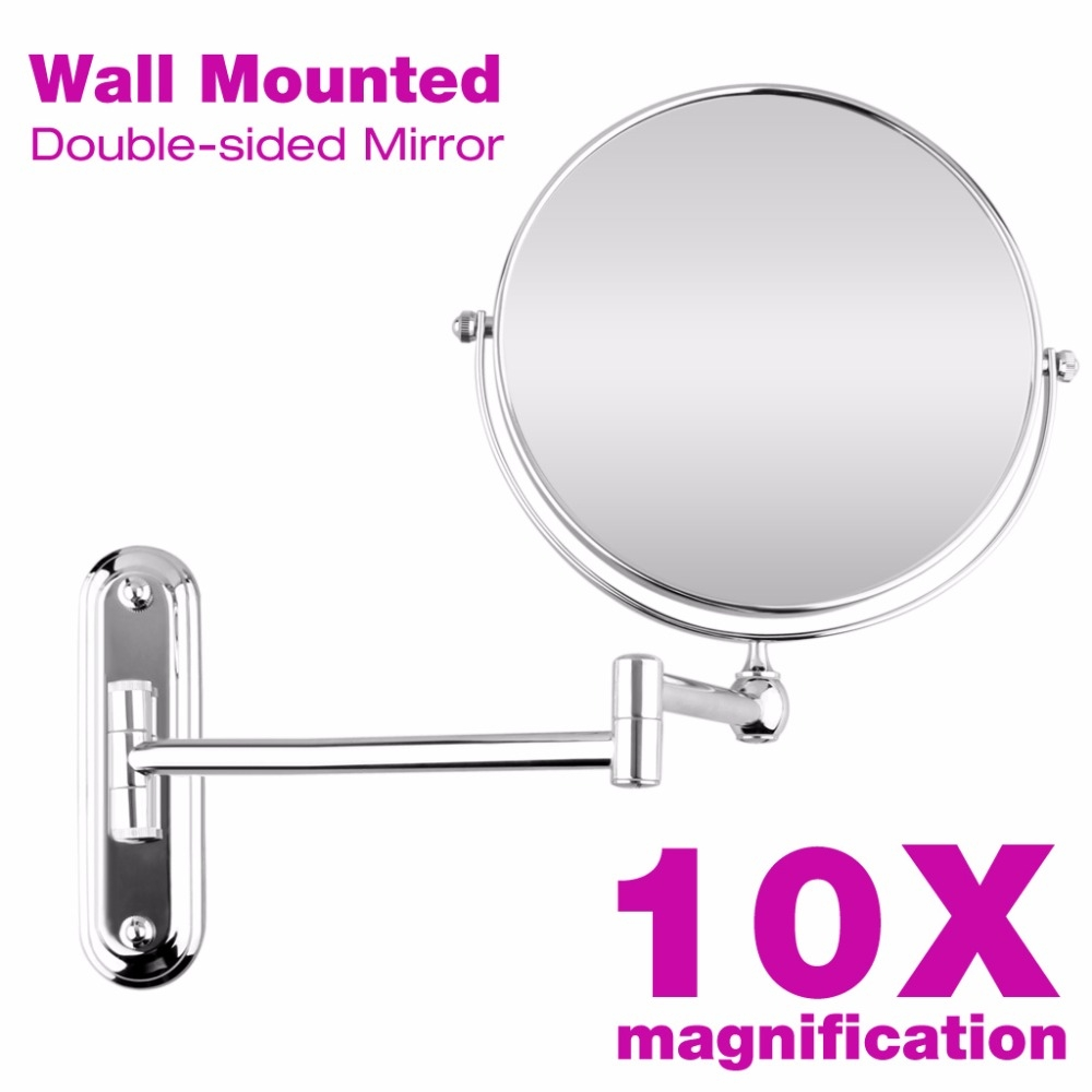 Permalink to 10x Magnification Wall Mounted Extendable Mirror