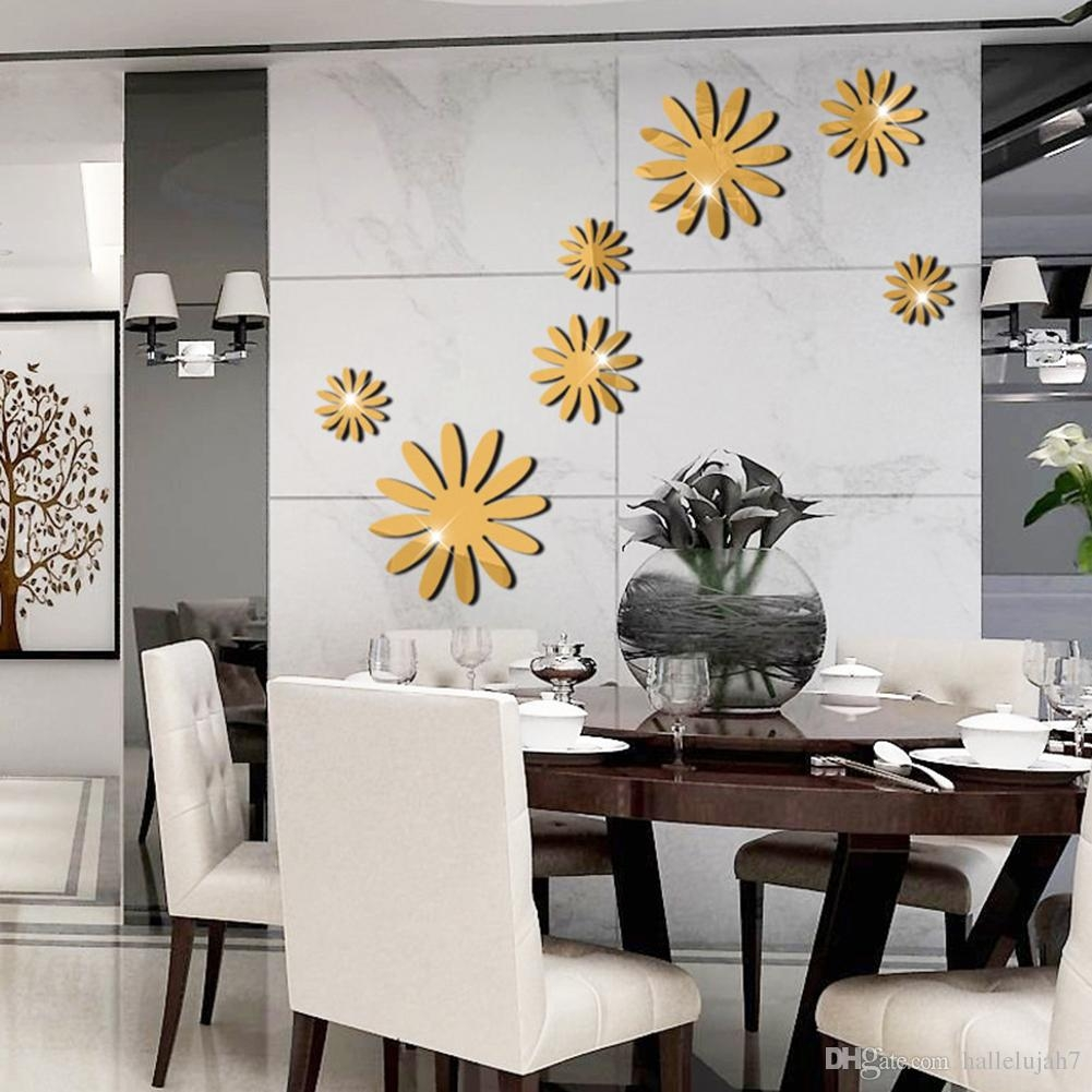 3d Mirror Wall Decals