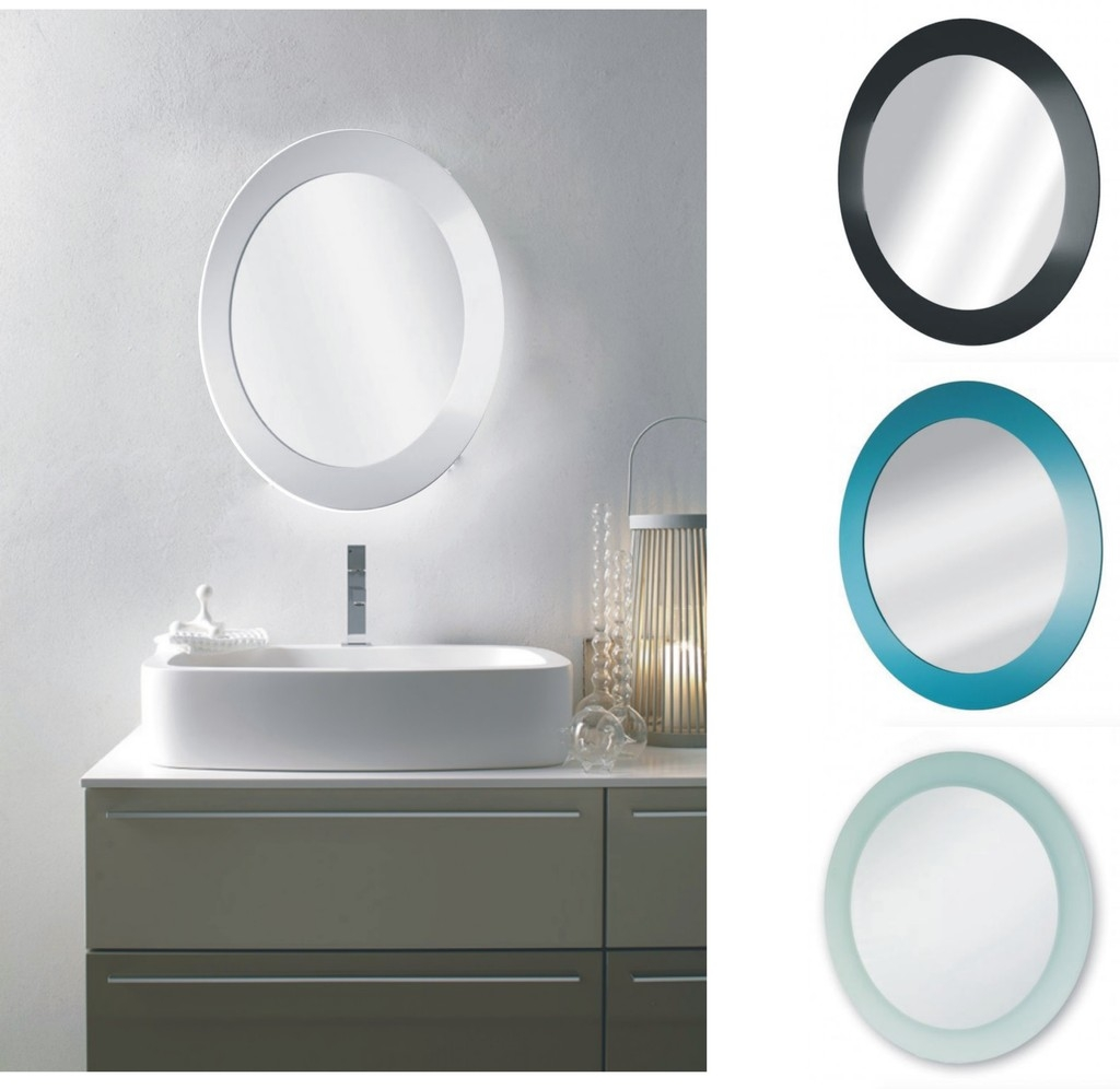 40cm Circular Bathroom Mirror