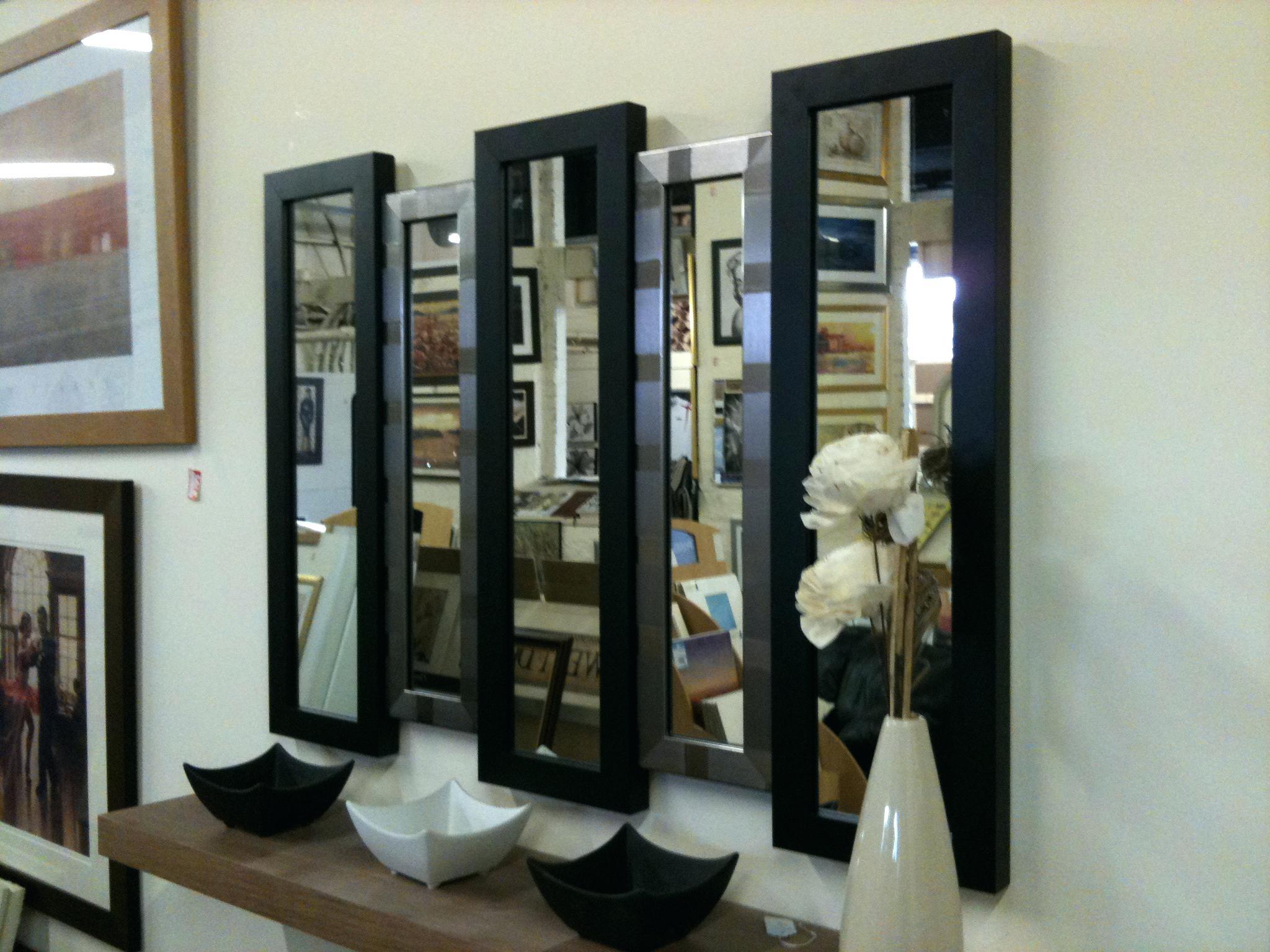 5 Panel Wall Mirror