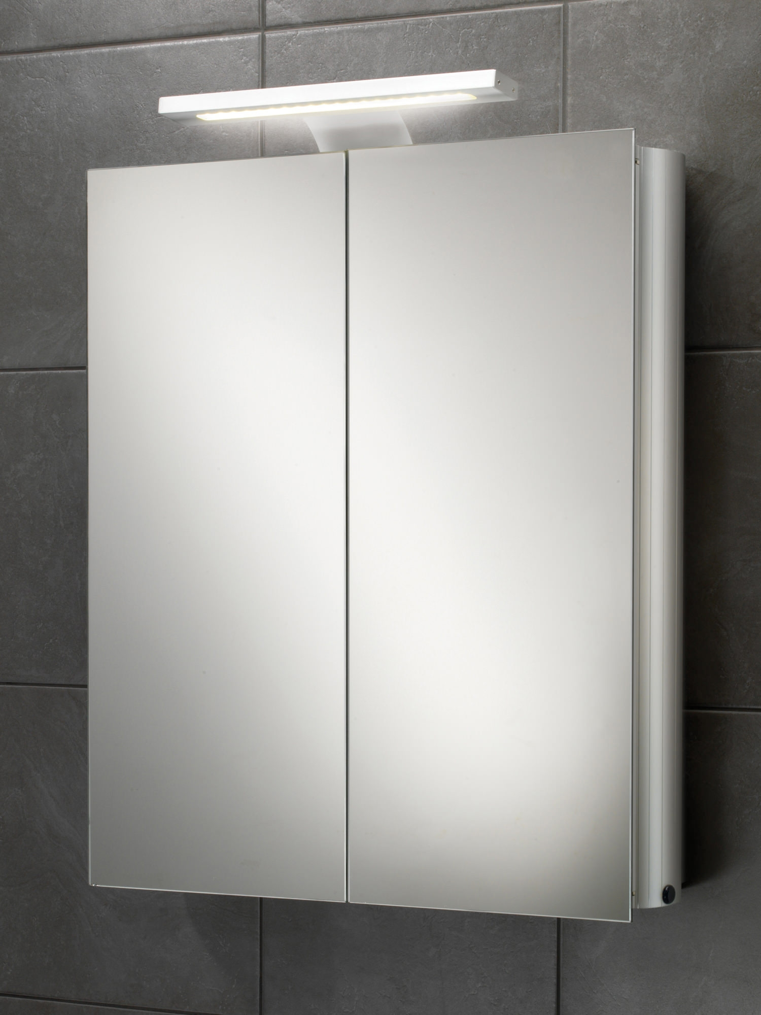 500mm Wide Mirrored Bathroom Cabinet