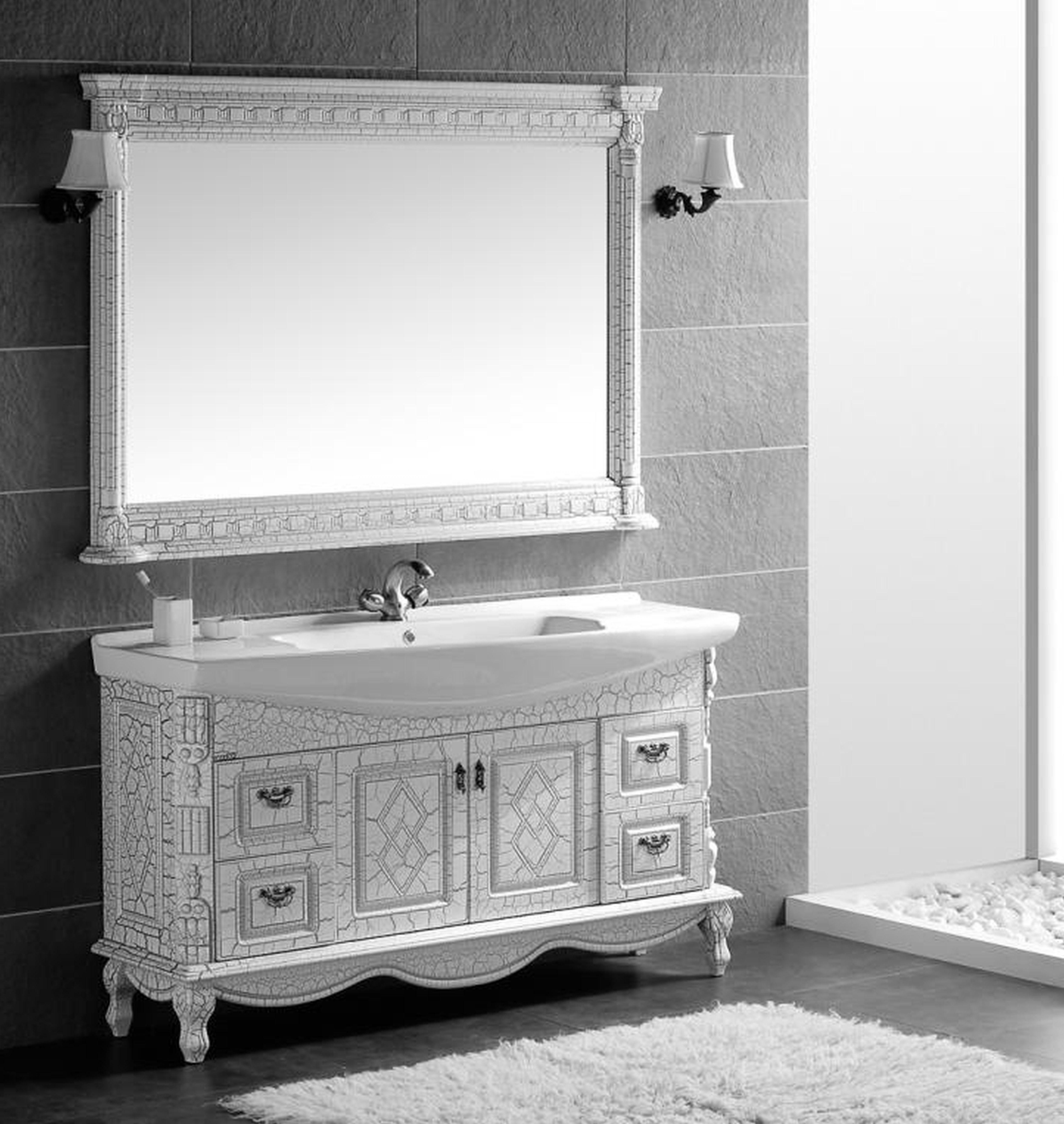 60 Wide Wall Mirror