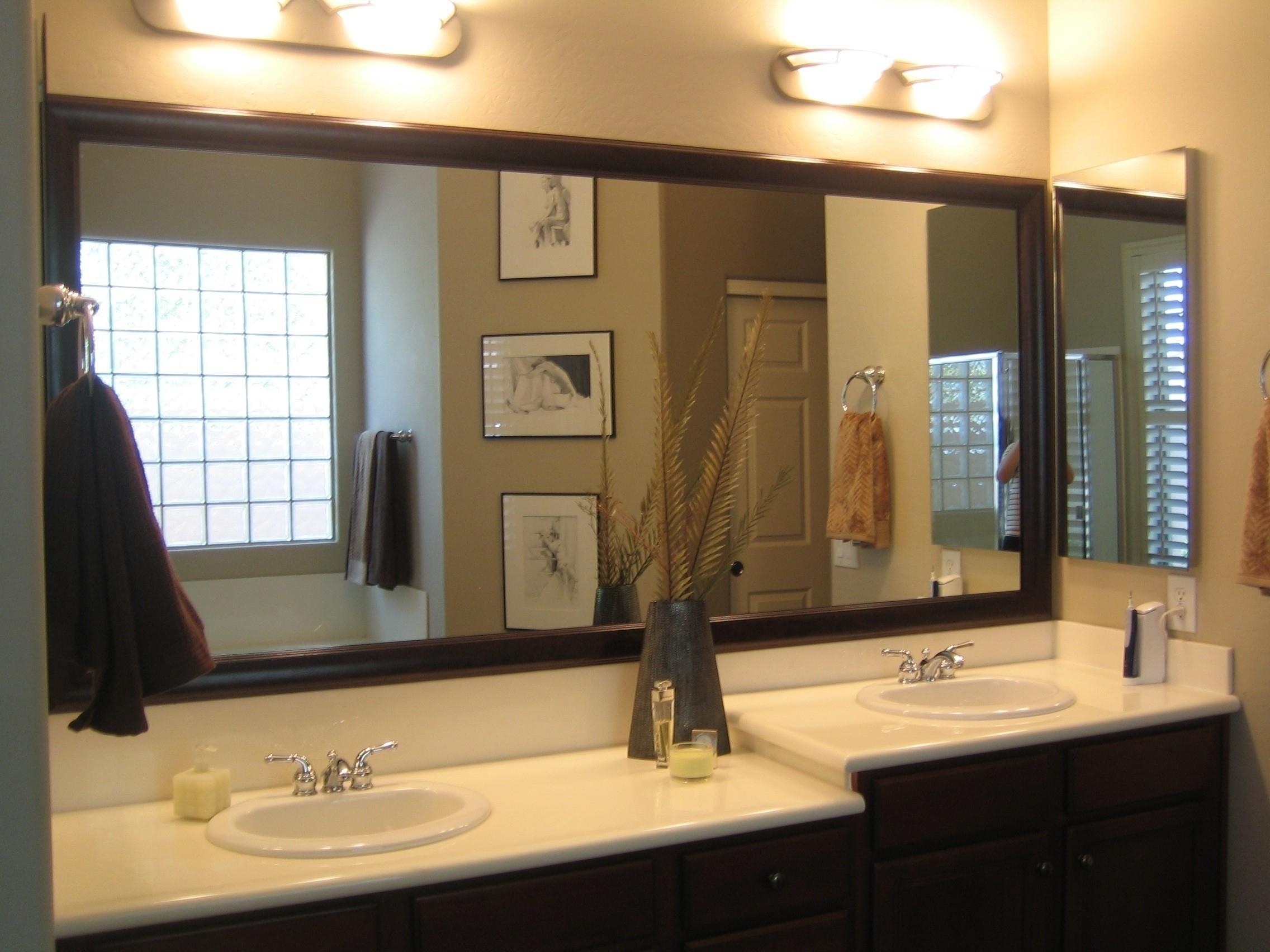 72 Framed Wall Mirror