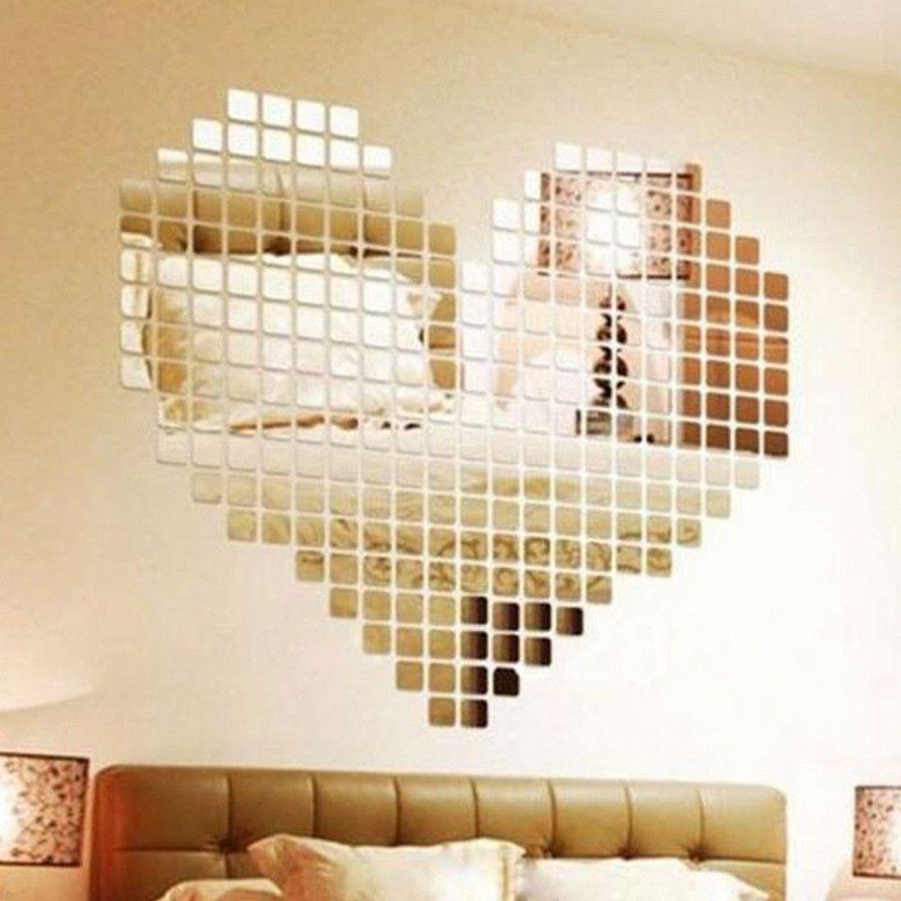 Adhesive Mirror Wall Art
