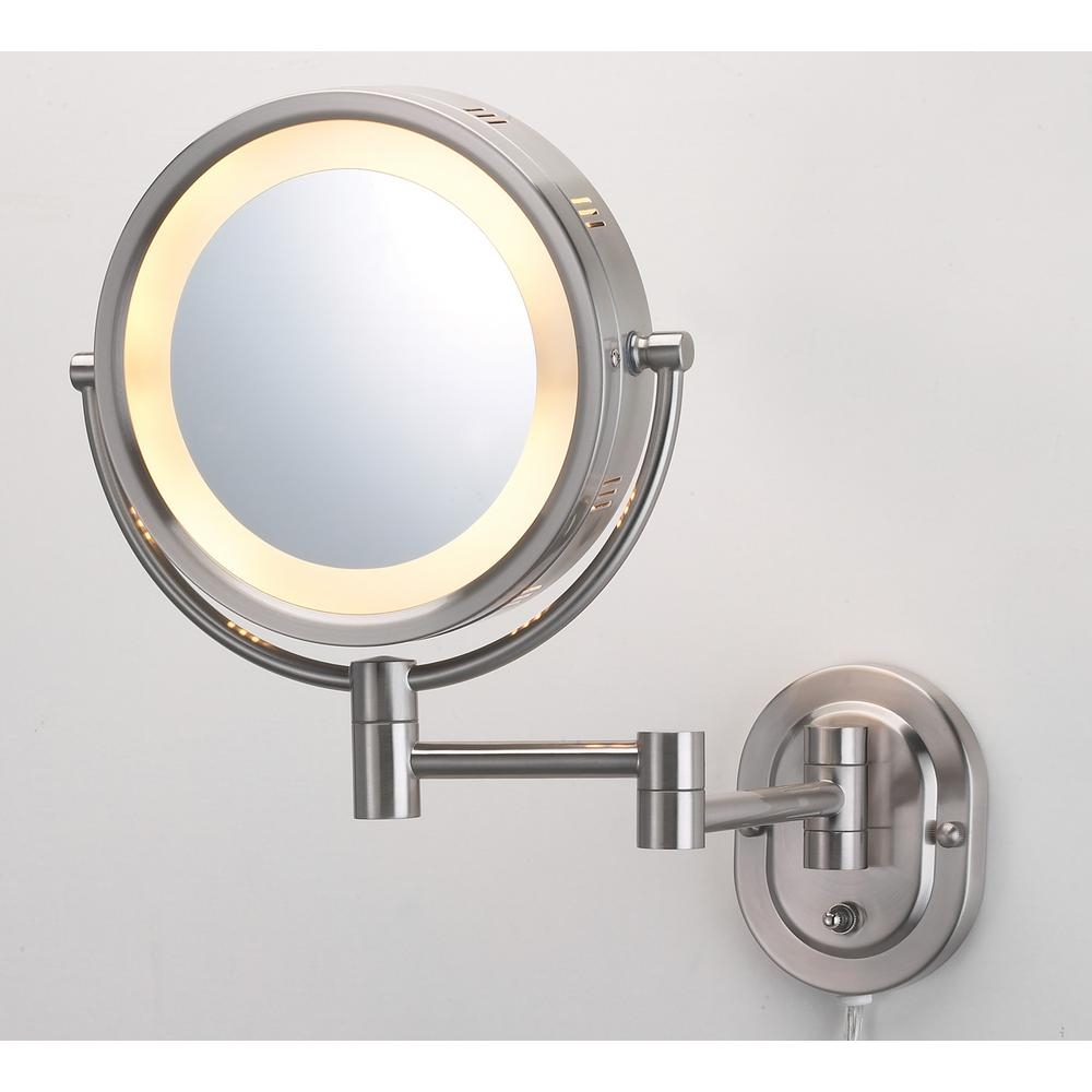 Adjustable Magnifying Bathroom Mirrors