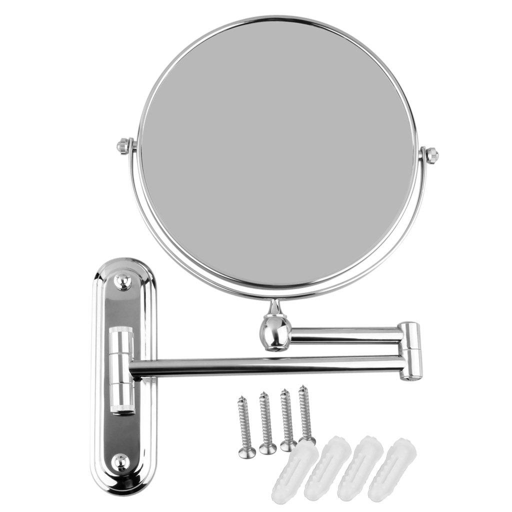 Adjustable Shaving Mirror Wall Mounted