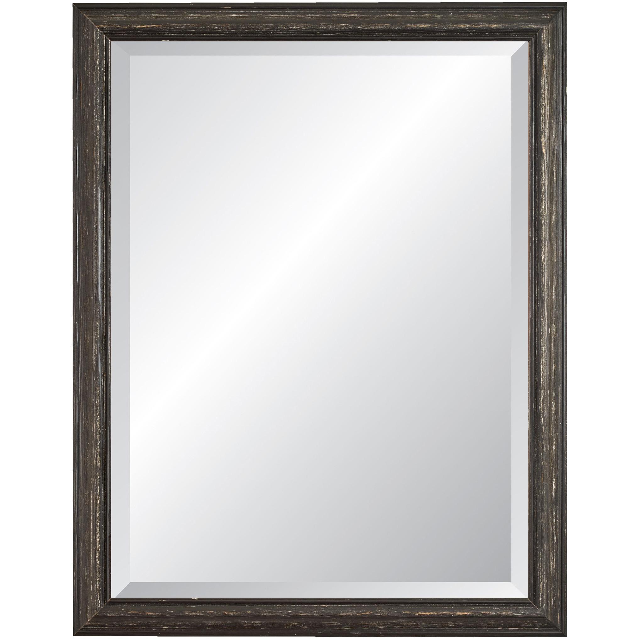 Alpine Art And Mirror Wave Framed Wall Mirror