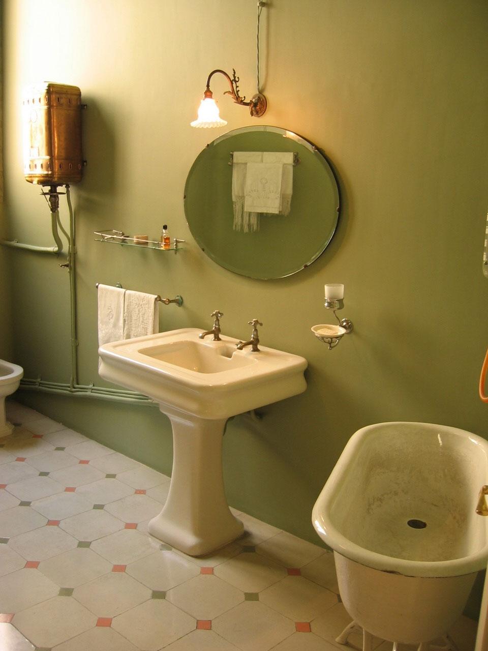 Antique Bathroom Mirror Lights