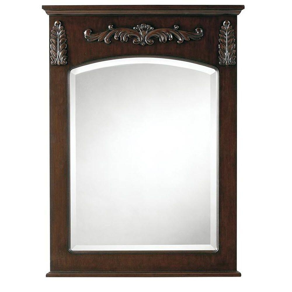 Antique Cherry Wall Mirror