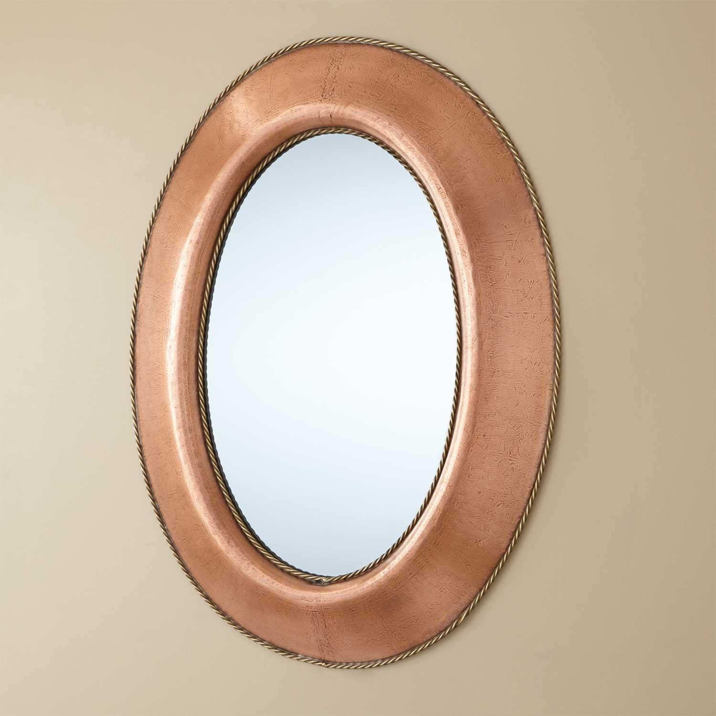 Antique Copper Bathroom Mirrors