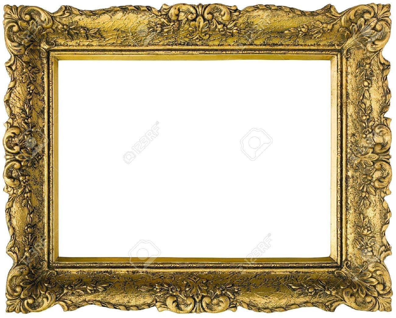 Antique Gold Leaf Frame Wall Mirror Antique Gold Leaf Frame Wall Mirror bois sculpt armature de miroir feuille dor antique cadre miroir 1300 X 1044