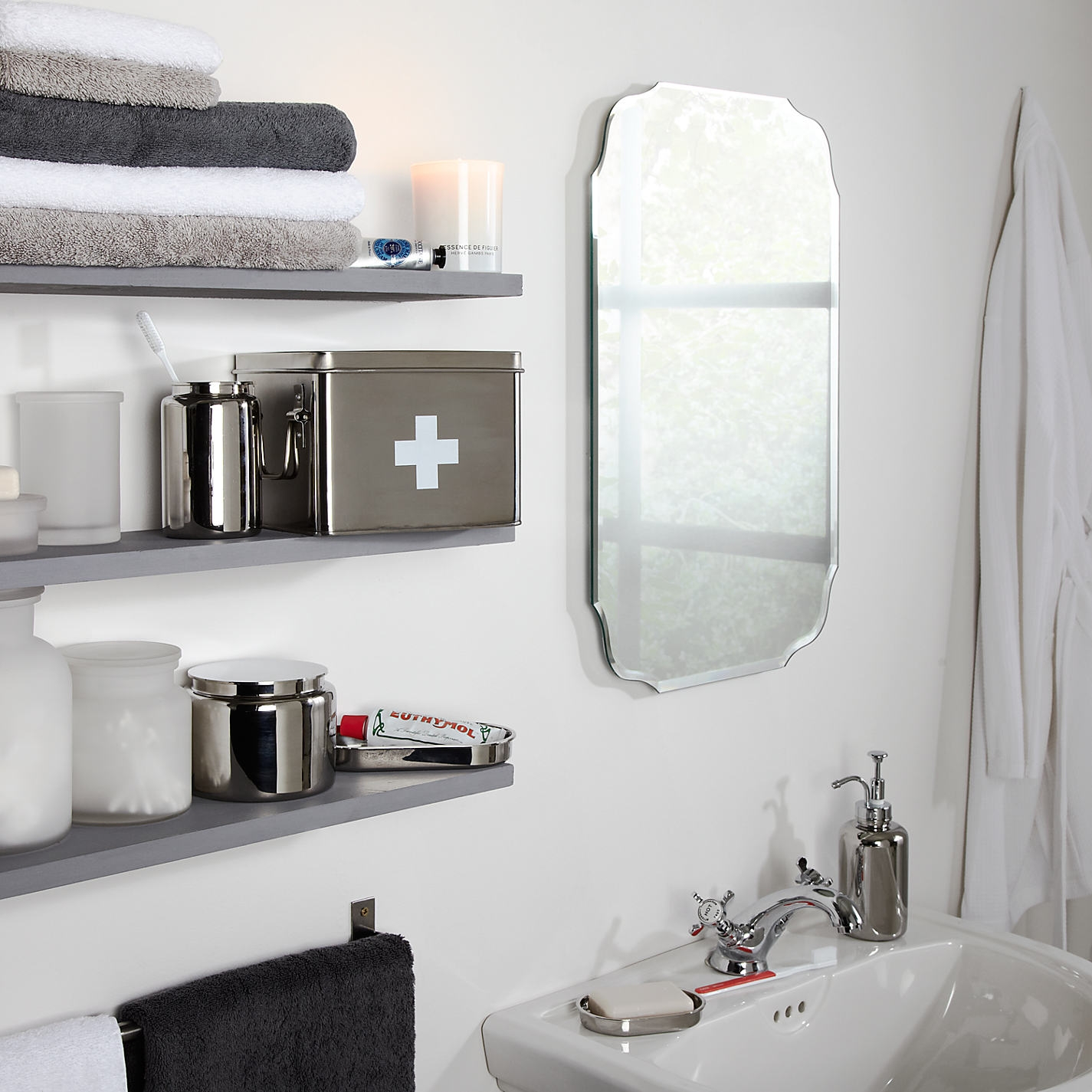 Antique Looking Mirrors For Bathrooms