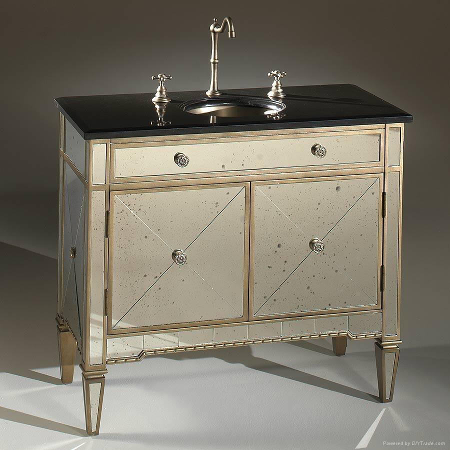 Antique Mirror Bathroom Vanity