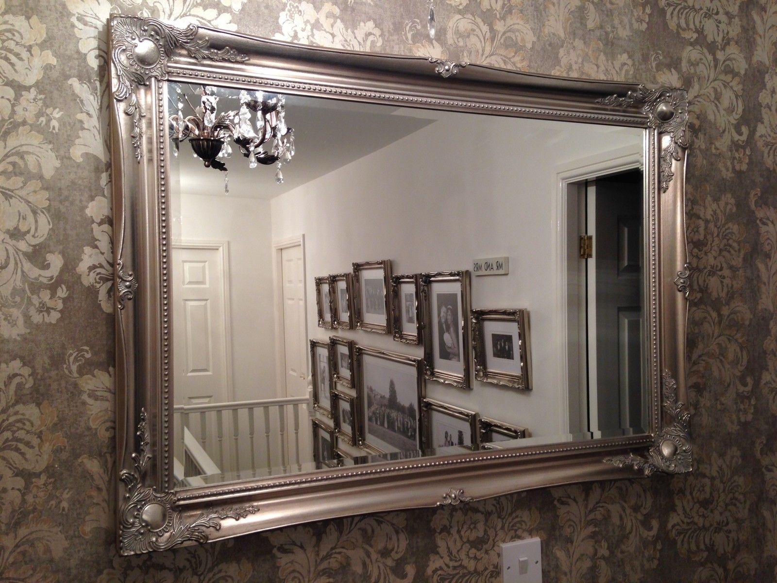 Permalink to Antique Mirror Wall Covering