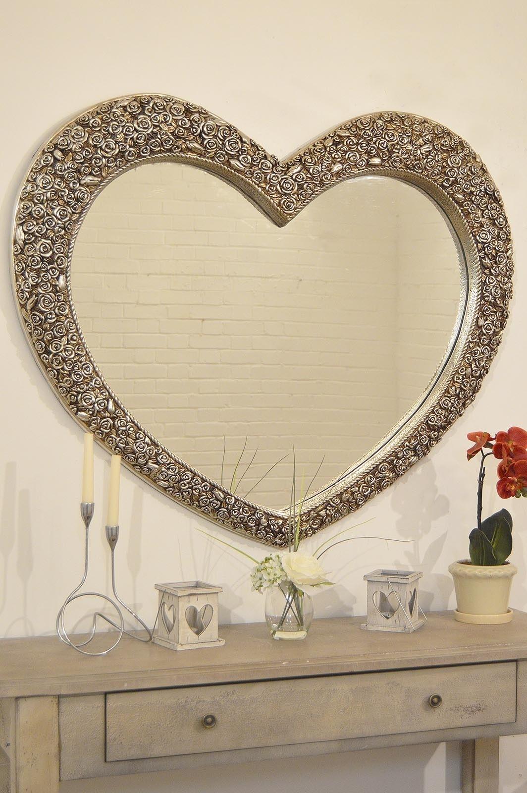 Antique Silver Bathroom Mirrors
