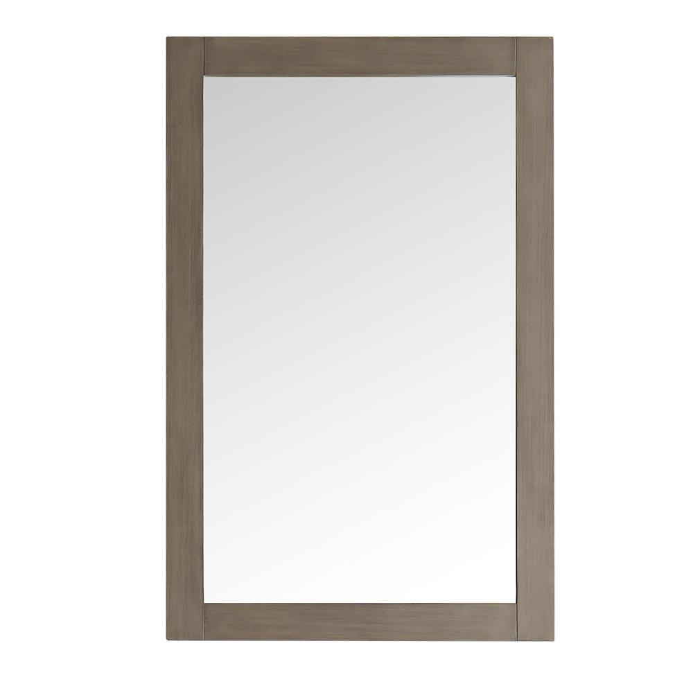 Antique Silver Finish Wall Mirror