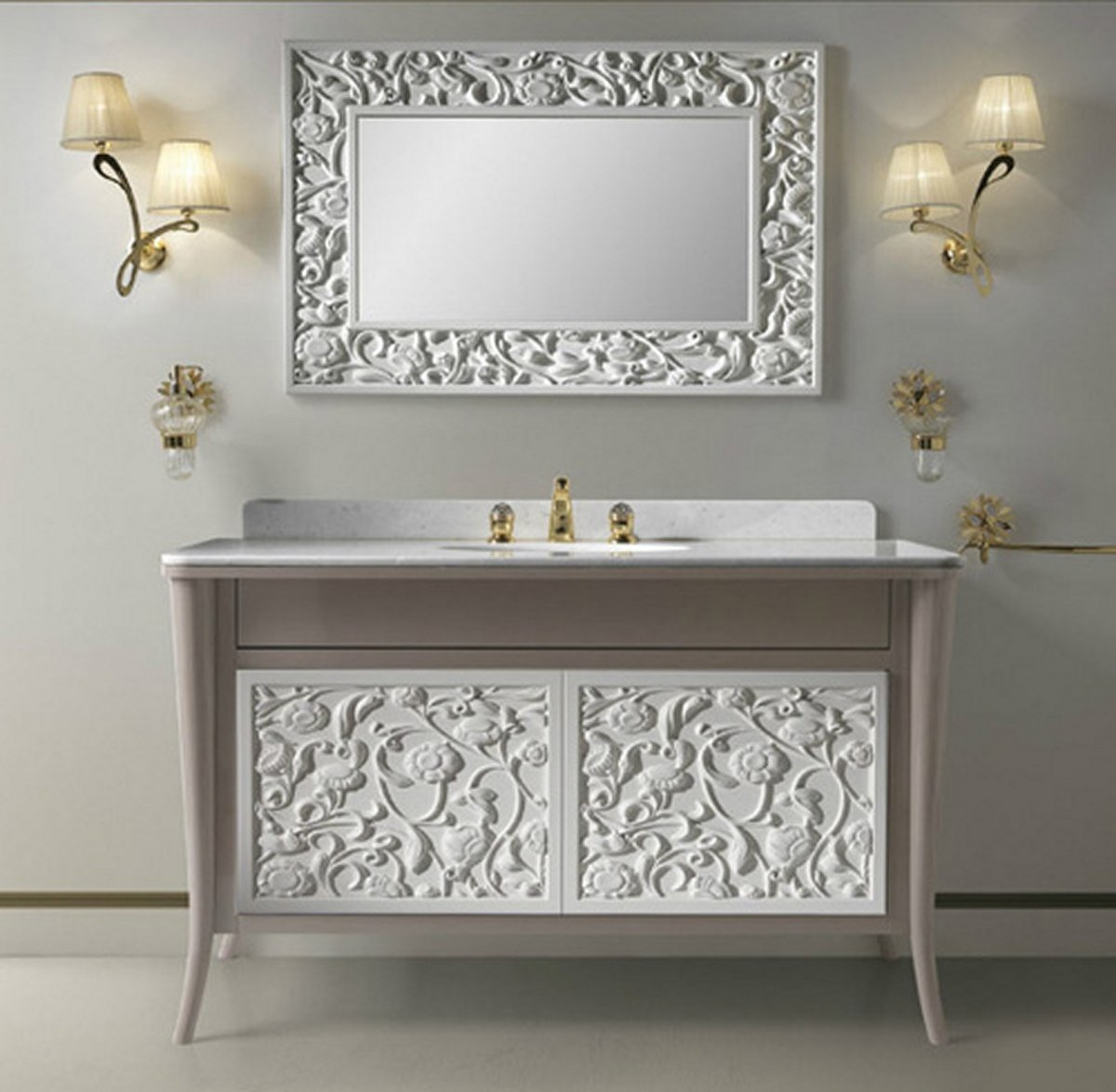 Permalink to Antique Style Bathroom Mirrors