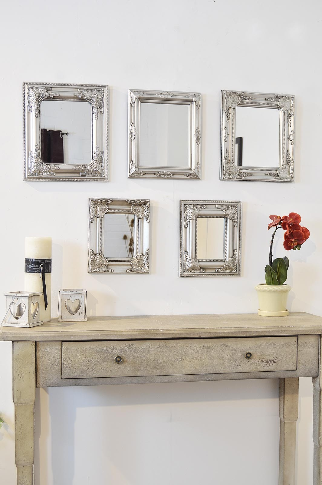 Antique Wall Mirror Sets