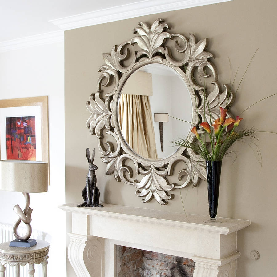 Antique Wall Mirrors Decorative