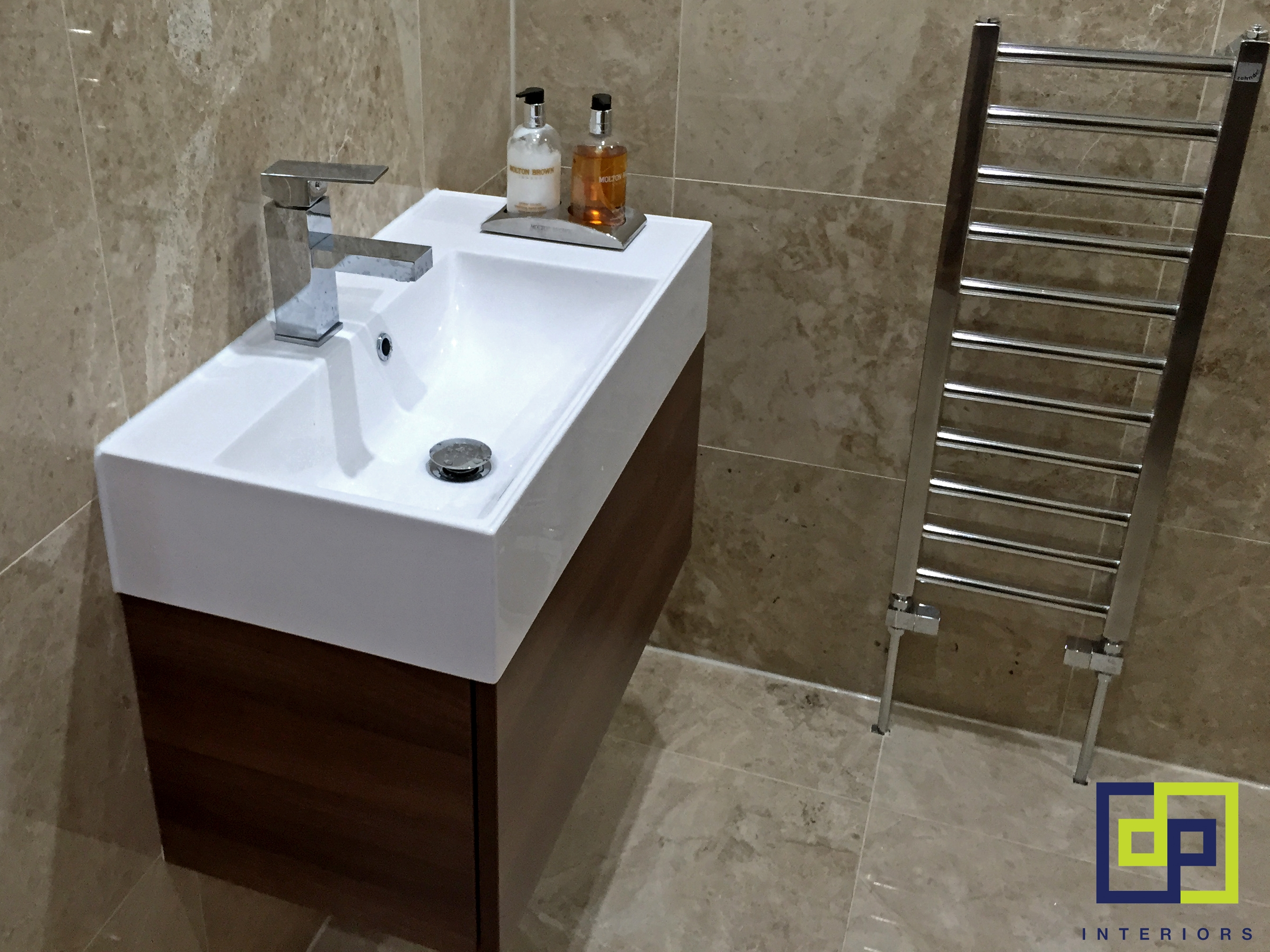 Apex Walnut Bathroom Mirror