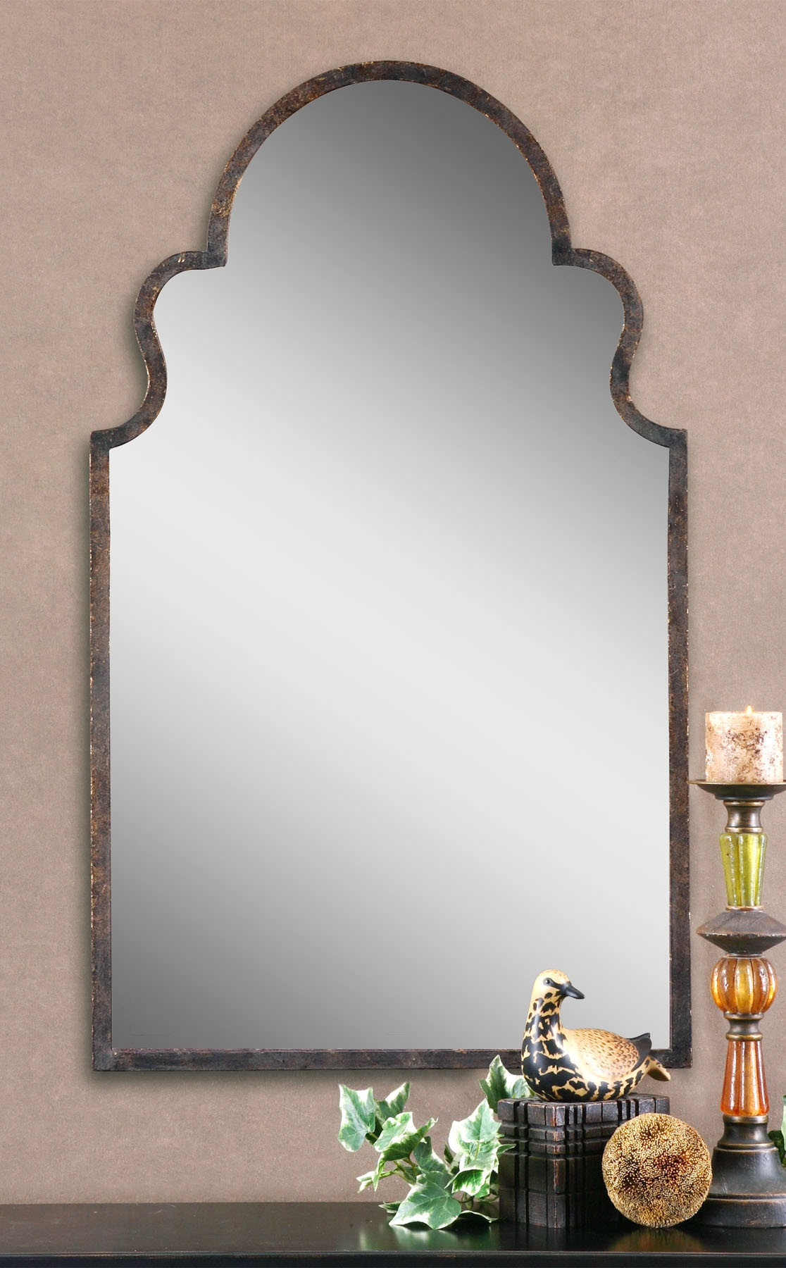 Arch Shaped Bathroom Mirrors