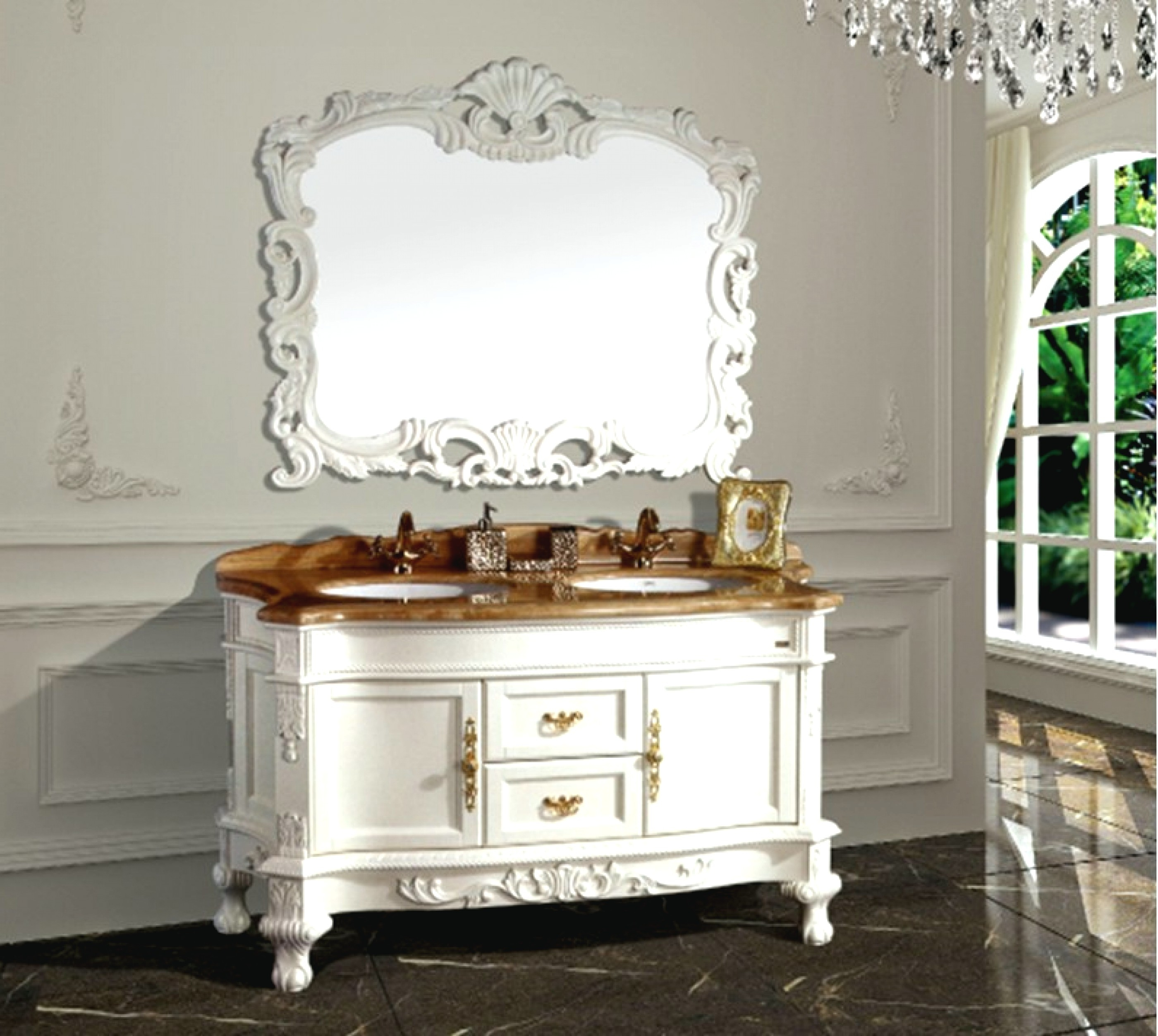 Permalink to Arched Bathroom Vanity Mirror