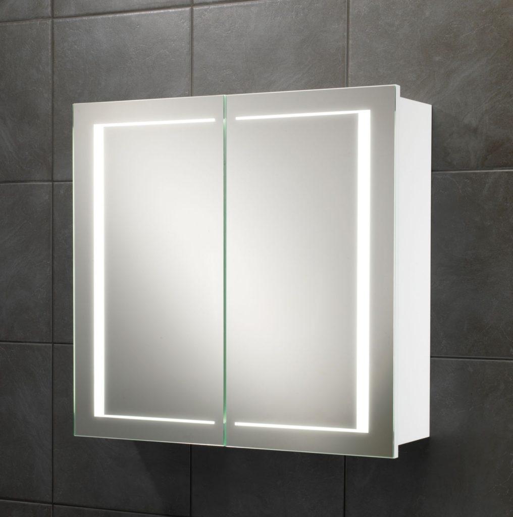 Aura 60cm Mirror Bathroom Cabinet With Led Lights