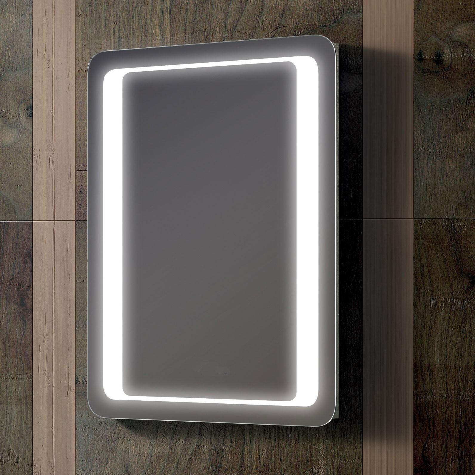 Backlit Bathroom Mirror Demister