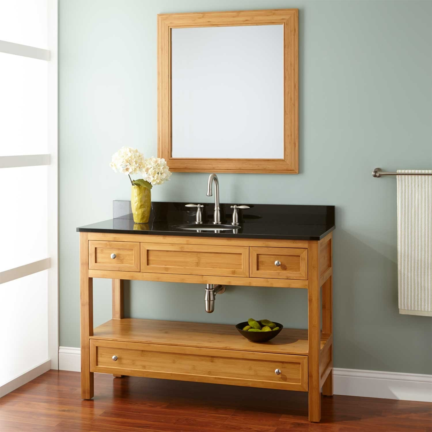 Bamboo Bathroom Vanity Mirror1500 X 1500