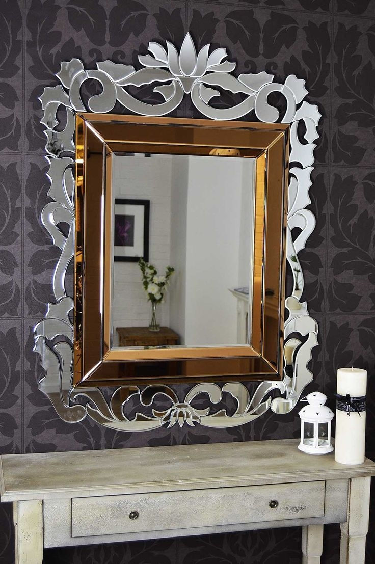 Baroque Style Bathroom Mirrors