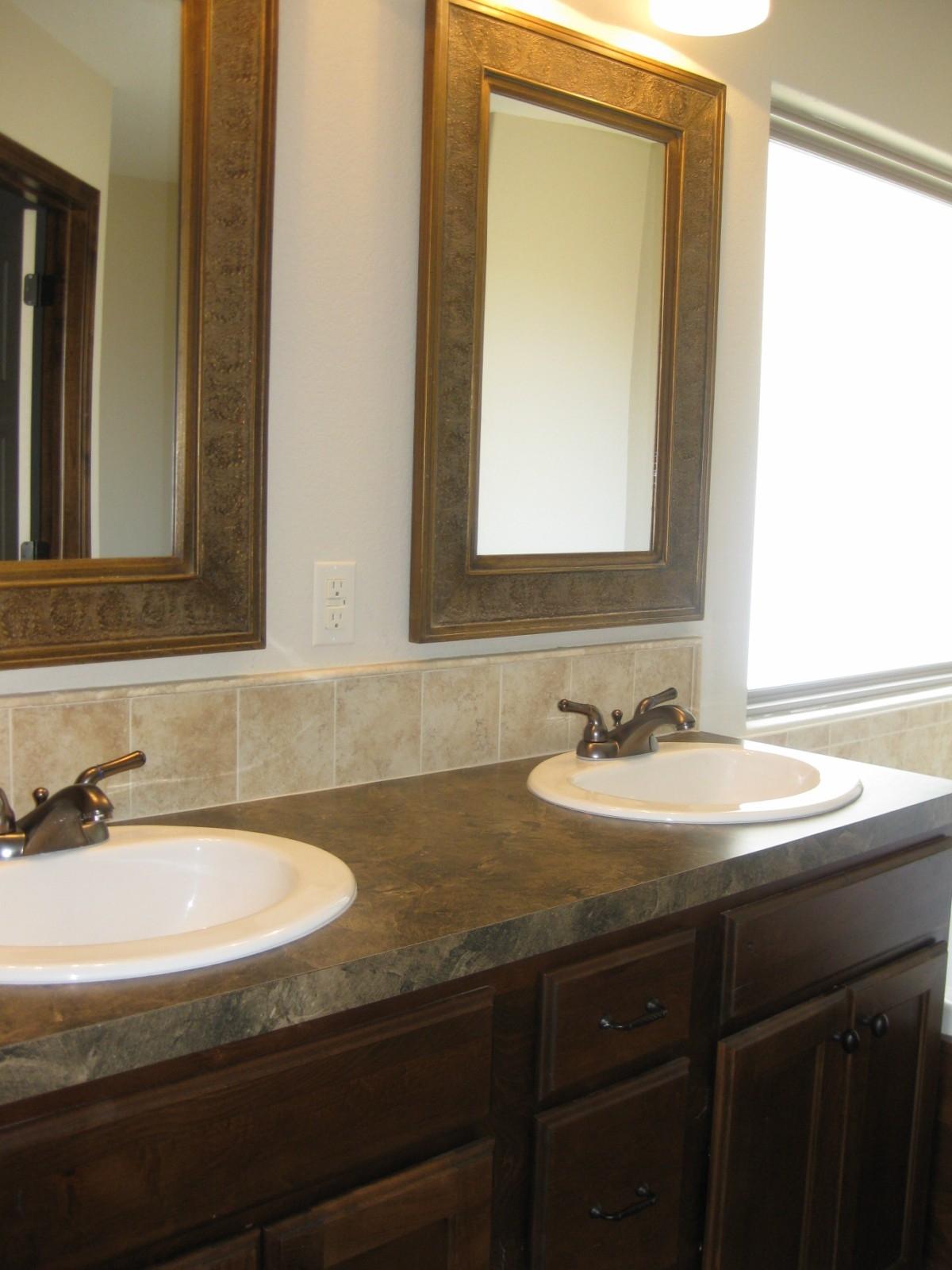 Bathroom Double Sink Mirrors