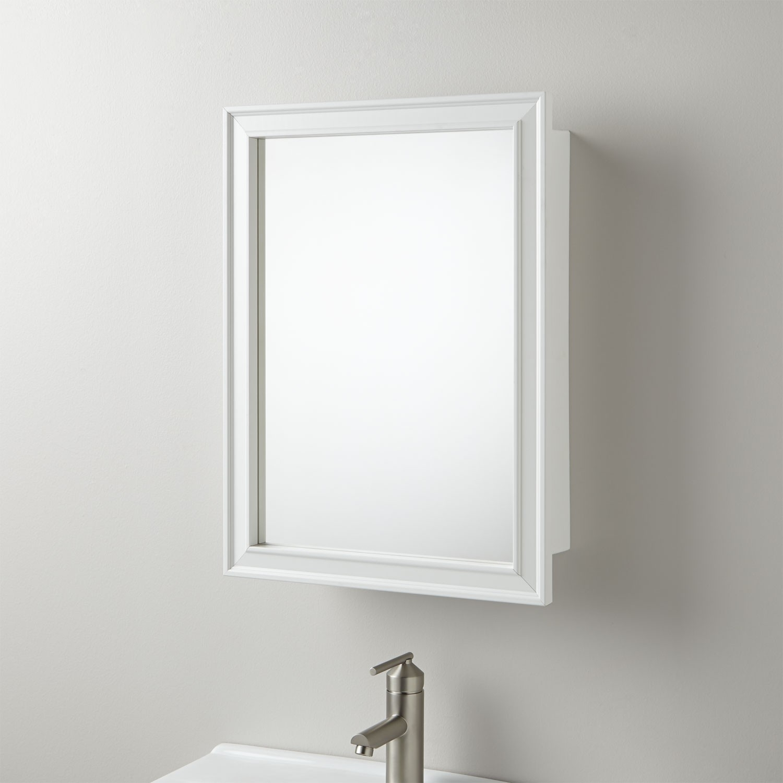 Bathroom Framed Mirror Medicine Cabinets