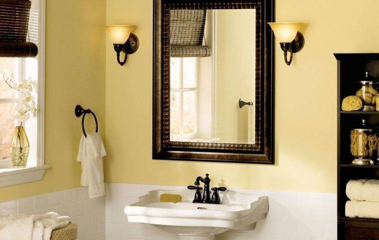 Bathroom Framed Mirrors Designs