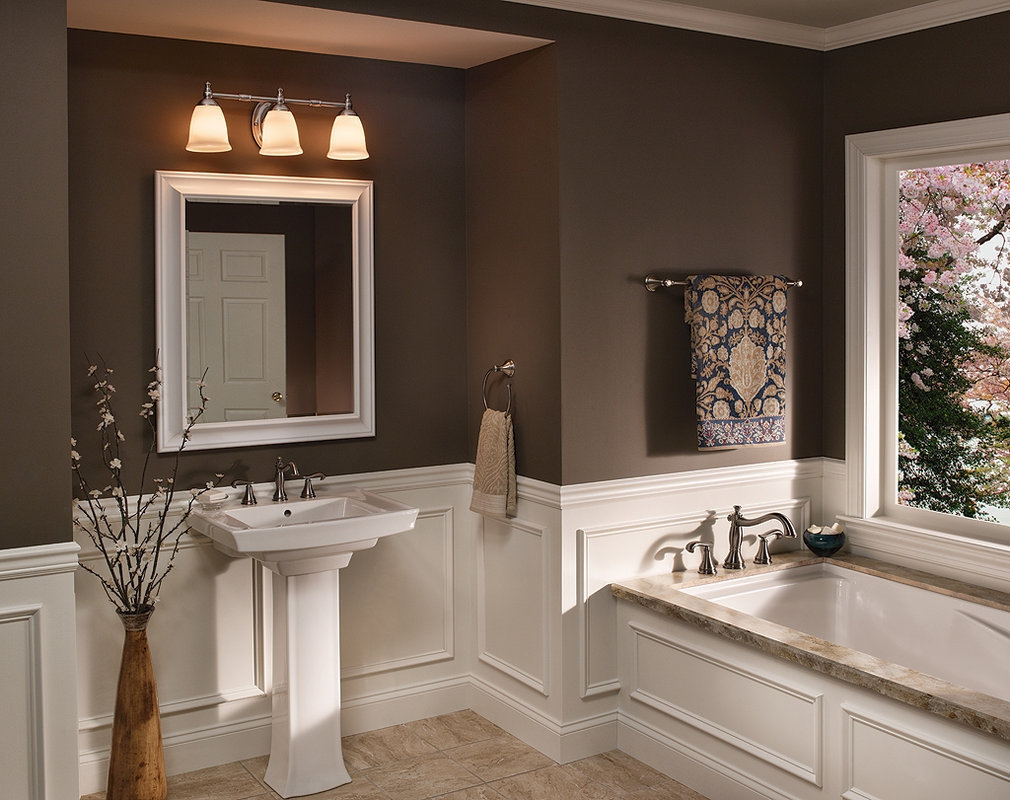 Bathroom Light Fixtures On Mirror