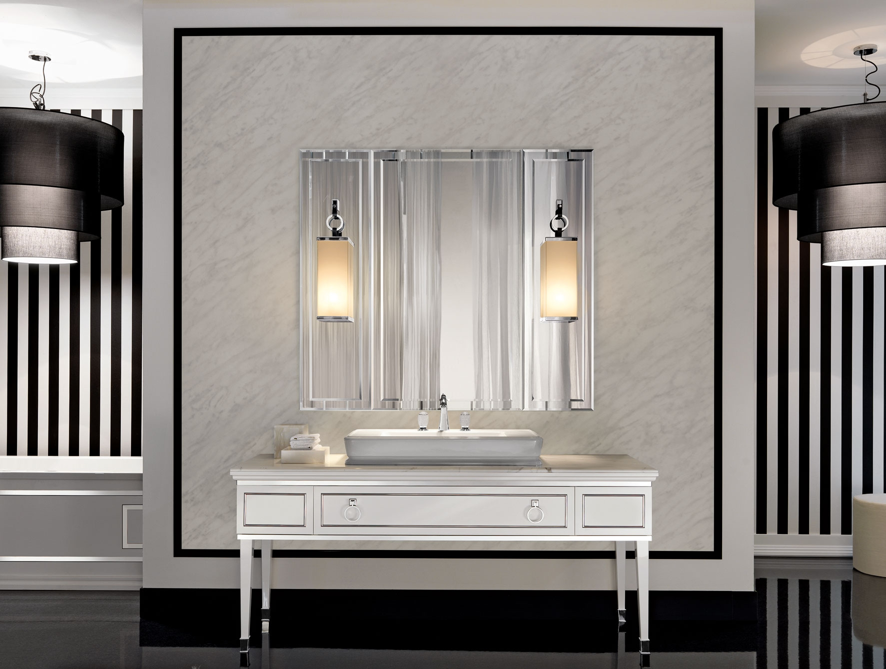Bathroom Mirror And Sconce Setsquare bathroom vanity wall mirror amazing home interior mirror