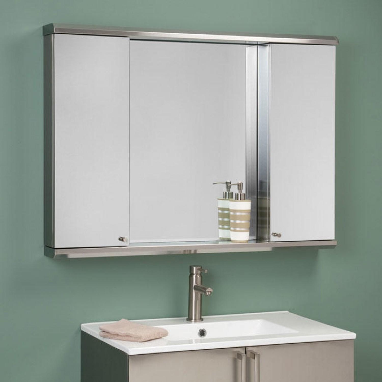 Bathroom Mirror Cabinet 1500