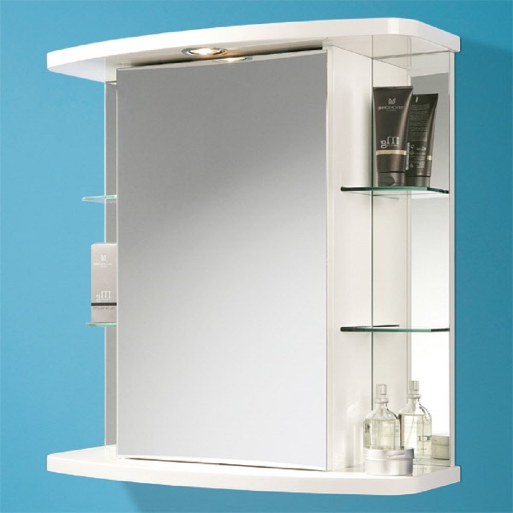 Bathroom Mirror Cabinets White Gloss