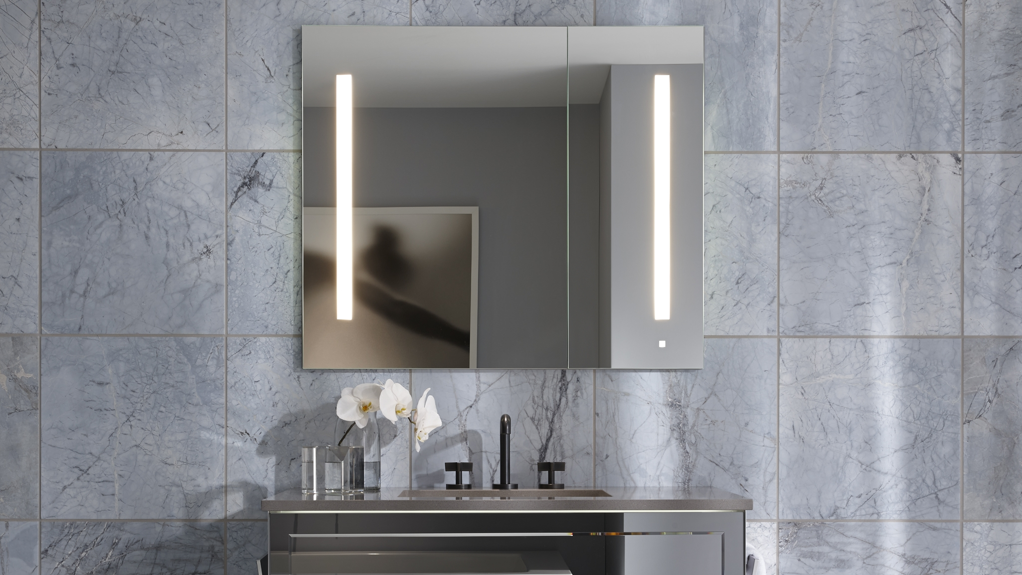 Bathroom Mirror Cabinets With Power